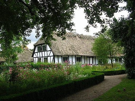 Den Fynske Landsby - bindingsværkshus