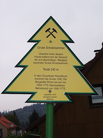 Mining in the Upper Harz - The so-called Dennert Fir Trees recall aspects of mining all over the Harz