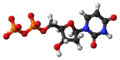 Deoxyuridine diphosphate anion 3D ball.png