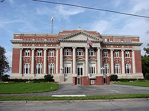 National Register of Historic Places listings in DeSoto County, Florida - Image: Desoto Courthouse
