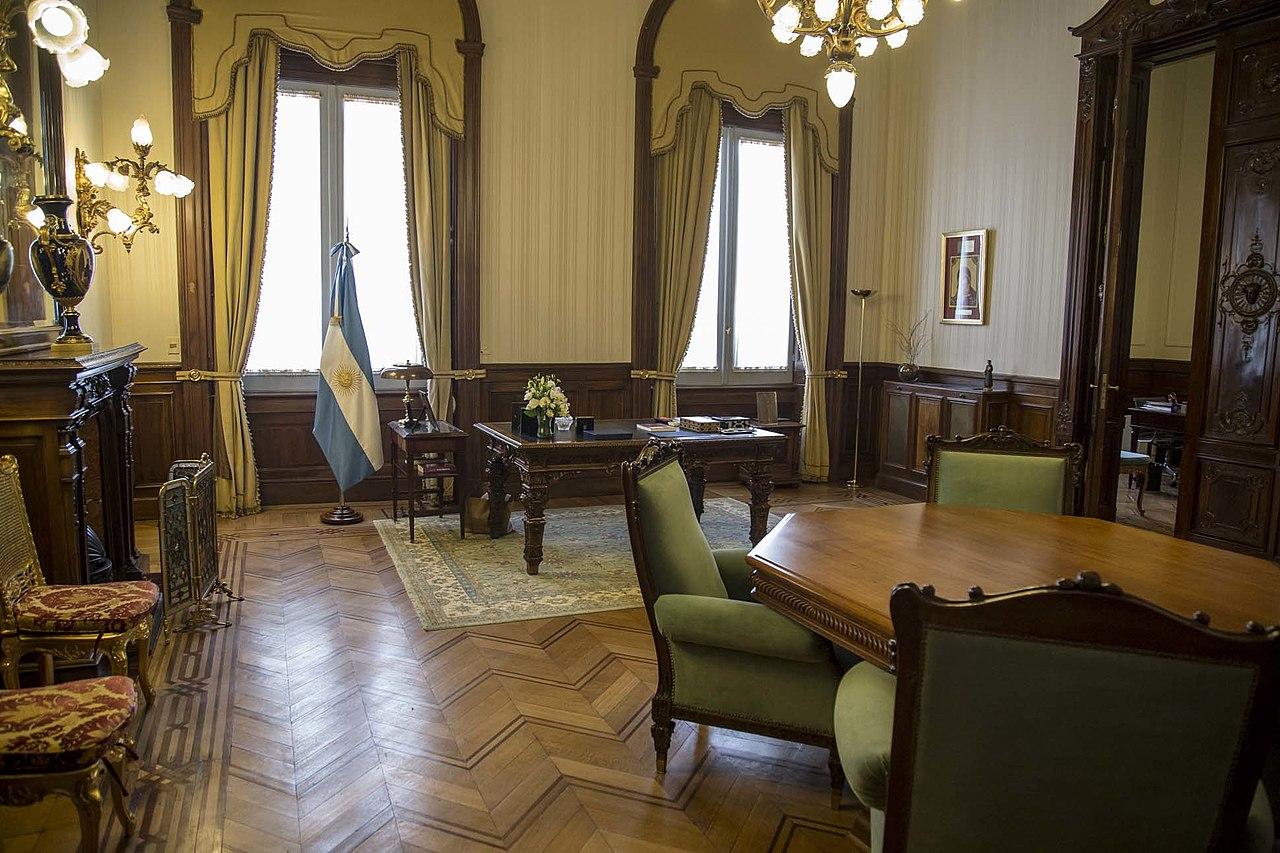 File despacho del vicepresidente casa rosada - Despacho en casa ...