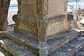 Detall d'un monument al cementeri vell, Xàbia.JPG