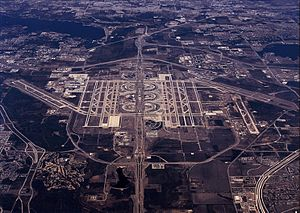 Transportation in Texas - Dallas-Fort Worth International Airport
