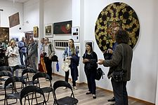Dialogue epochs. Interpretations - Exhibition 5.09.2014 Minsk 06.JPG
