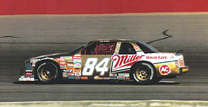 Dick Trickle - 1989 rookie of the year car