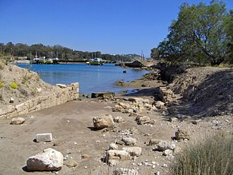 Diolkos - Mooring place