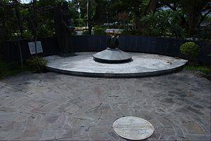 Diosdado Macapagal - Grave of Diosdado Macapagal at the Libingan ng mga Bayani.