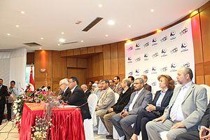 Membres de la direction du parti tunisien Ennahda