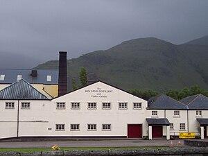 Ben Nevis distillery - Image: Distillerie Ben Nevis