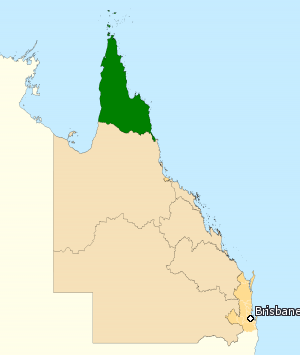 Division of Leichhardt - Division of Leichhardt in Queensland, as of the 2016 federal election.