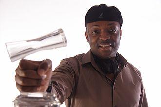 DJ Abass - Dj Abass with NMA Award