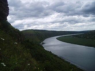 Rezina District - Nistru near the Lalova