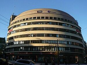 Rudolf Emanuel Jacobsen - Doblouggården from 1933 (Designed by Jacobsen and Erich Mendelsohn).