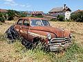 Dodge wreck, Bombeiros, Campo de Besteiros, pic1.JPG