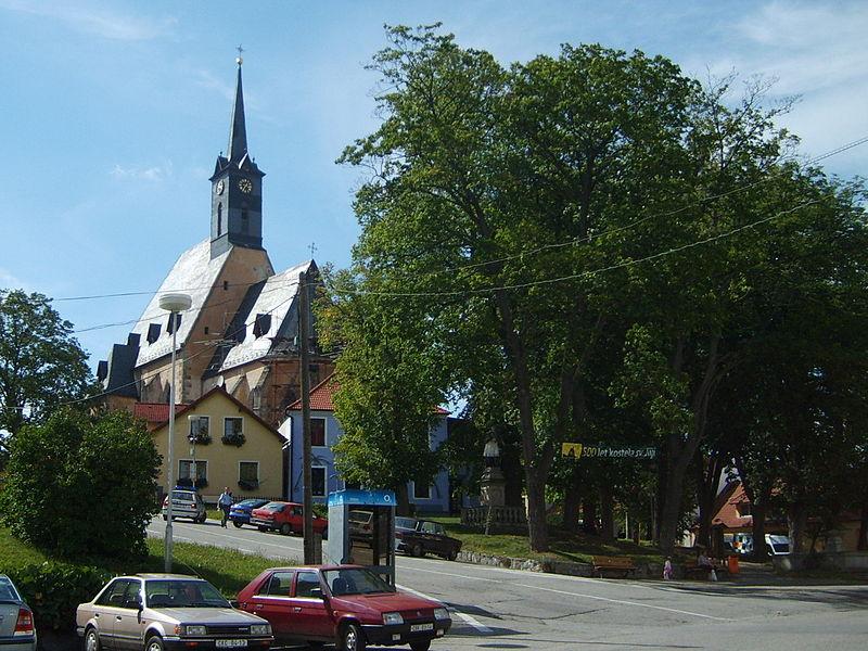 kostel svatého Jiljí v Dolním Dvořišti