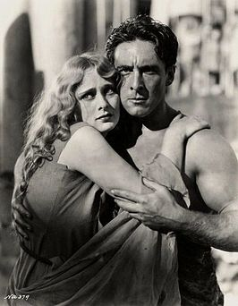 Dolores Costello en George O'Brien in Noah's Ark