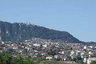 Domagnano castello in San Marino