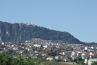 Domagnano - Image: Domagnano Borgo Maggiore RSM Panorama