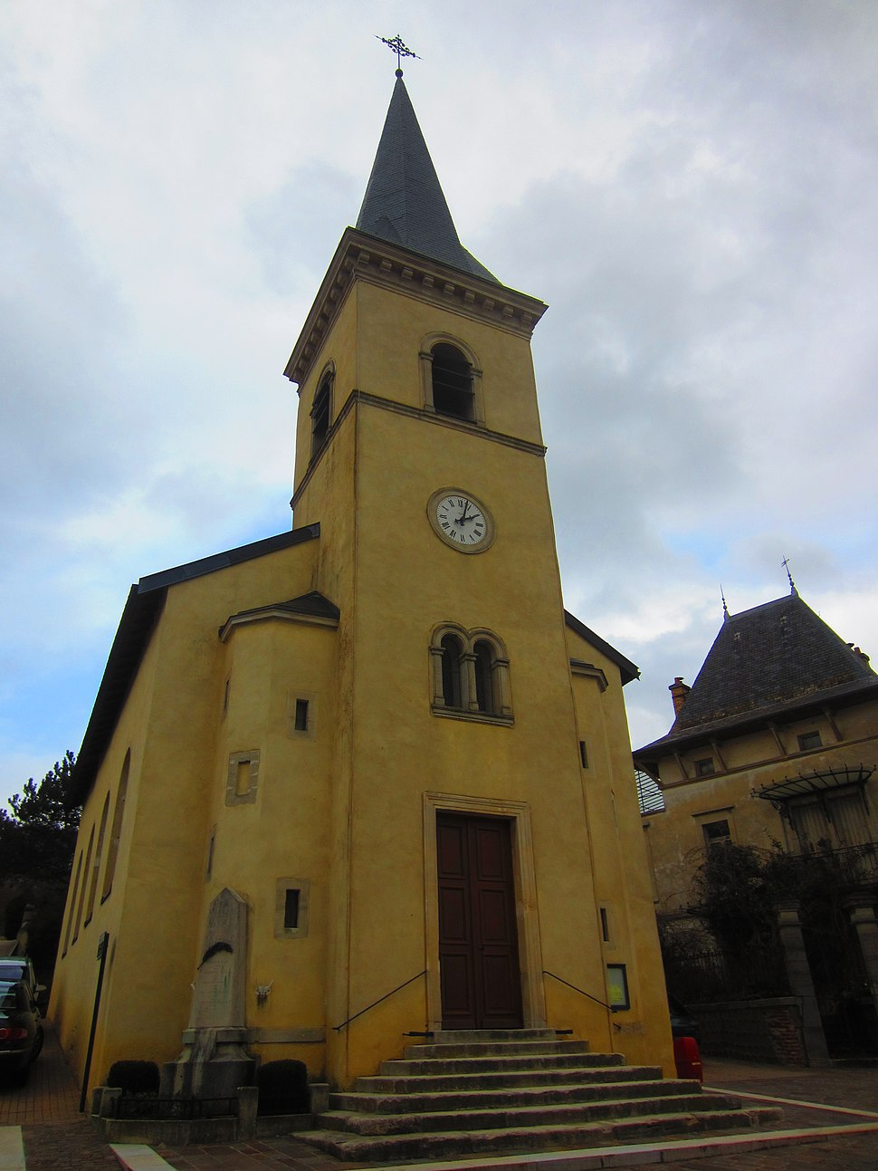 The church in Dommartemont