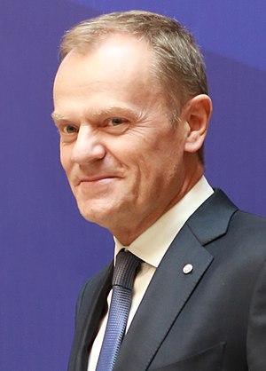 President of the European Council - Donald Tusk