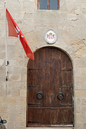 Saint John's Cavalier - The cavalier houses the embassy of the Sovereign Military Order of Malta