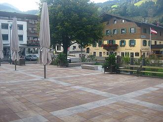 Brixen im Thale - New village square