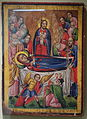 Dormition of the Mother of God, Melkite icon, late 18th century, pigment on panel - Huntington Museum of Art - DSC04815.JPG