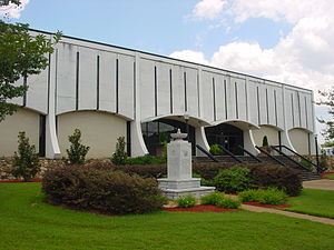 This photograph is of the Dothan Civic Center ...