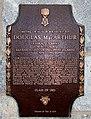 Douglas MacArthur MOH Plaque, USMA.JPG