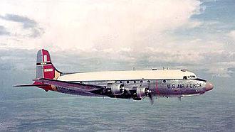 57th Rescue Squadron - Air Rescue Service SC-54D in flight