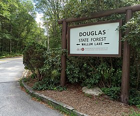 Douglas State Forest entry sign.jpg