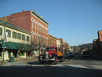 Downtown Brookville PA Nov 09.jpg