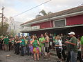 Downtown Irish Parade 2013 Markeys Bar.JPG