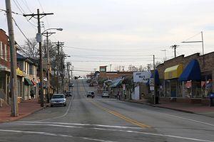 Overland, Missouri - Downtown Overland