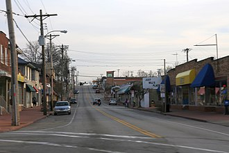 Overland, Missouri - Downtown Overland