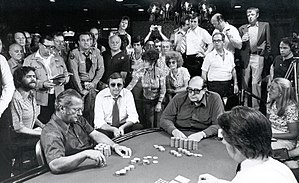 Doyle Brunson - Doyle Brunson on the way to his 1976 WSOP Main Event title.
