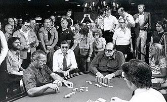Doyle Brunson - Doyle Brunson on the way to his 1976 WSOP Main Event title.