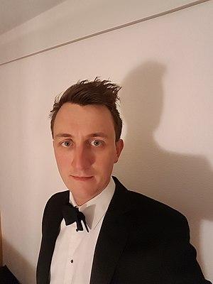 Ben Britton - Ben Britton prior to the Institute of Chemical Engineering Awards