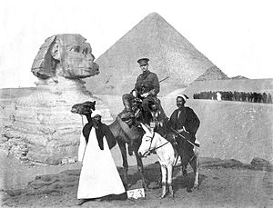 Cluny MacPherson - Colonel Dr. Cluny Macpherson in Egypt, September 1915