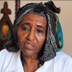 Dr Hawa Abdi by Eunice Lau in her fim Through the Fire.png