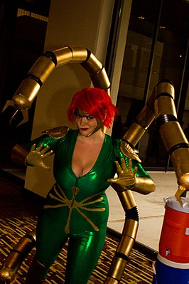 Cosplayer - Lady Octopus, Dragon Con 2013.