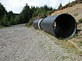 Drainage pipes, Hafren Forest - geograph.org.uk - 228895.jpg