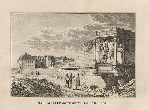 Dresdens Prachtgebäude 1835 86