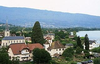 Duingt Commune in Auvergne-Rhône-Alpes, France