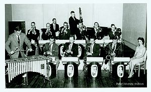 Duke Ambassadors - The Duke Ambassadors performing in 1958, Courtesy of the Duke University Archives