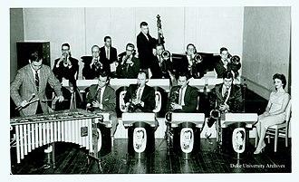 Duke Ambassadors - The Duke Ambassadors performing in 1958, Courtesy of the Duke University Archives