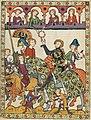Duke of Wrocław & Kraków Henryk IV Probus from Codex Manesse, 1305-40 (27668147667).jpg