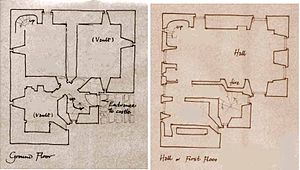 Dunduff Castle - Dunduff Castle floor plans