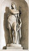 Duomo (Treviso) - interior - Nave - Saint John the Baptist by Alessandro Vittoria.jpg