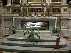 Elena Valentinis - Tomb in the Udine Cathedral.